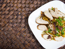 Duck noodle, Asia food Stock Image