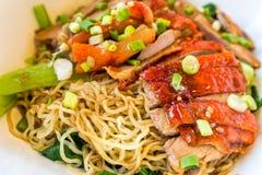 Duck noodle Stock Image
