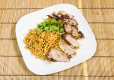 Duck noodle Royalty Free Stock Photography