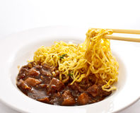 Duck noodle, chinese style Royalty Free Stock Images
