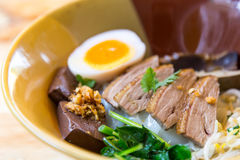 Duck noodle. Duck noodle asia Royalty Free Stock Photo