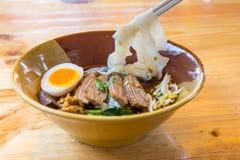 Duck noodle. Duck noodle asia Stock Image