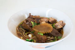 Duck noodle. Food in thailand Stock Photo