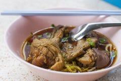 Duck noodle soup Stock Photos