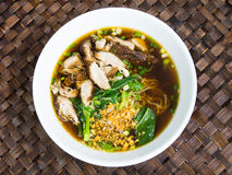 Duck noodle soup, Asia food Royalty Free Stock Photos