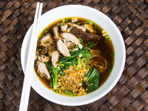 Duck noodle soup, Asia food Stock Photography