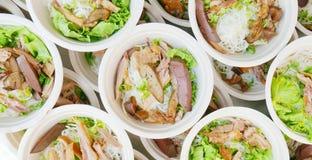 Duck Noodle tailandês fotos de stock
