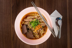 Duck noodle Stock Images