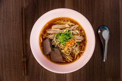 Duck noodle Royalty Free Stock Image