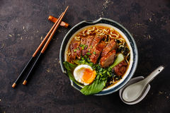 Duck Noodles Royalty Free Stock Image