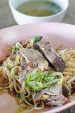 Duck noodles Royalty Free Stock Photo