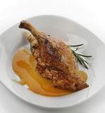 Duck With Orange Sauce Stock Images