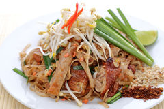 Duck pad thai Royalty Free Stock Photos