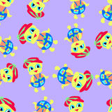 Duck pattern Stock Images