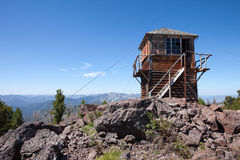 Duck Point Fire Lookout Tower Stock Photography