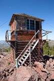 Duck Point Fire Lookout Tower Royalty Free Stock Images