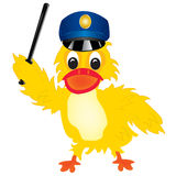 Duck police Stock Photography