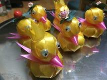 Duck ribbon Stock Image