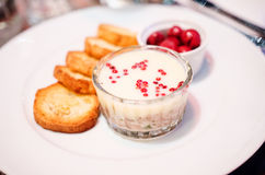 Duck rillettes with butter Royalty Free Stock Image
