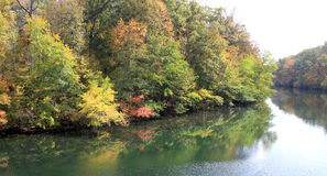 Duck river in MIddle Tennessee Royalty Free Stock Photos