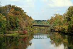 Duck river in MIddle Tennessee Stock Photo