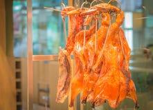 Duck roast is hang Stock Images