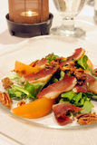 Duck salad stock images
