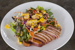 Duck Salad Photo stock