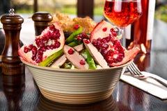 Duck salad Stock Photography