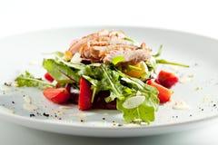 Duck Salad med frukt royaltyfria foton