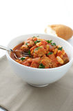 Duck and sausage cassoulet Royalty Free Stock Photos