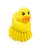 Duck Scrubber Royalty Free Stock Photos