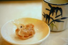 Duck Shaped dumpling Stock Images