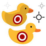 Duck Shooting Target Royalty Free Stock Photo