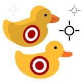 Duck Shooting Target Royalty Free Stock Photo