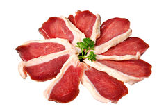 Duck slices Royalty Free Stock Images