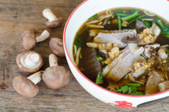 Duck Soup In Bowl Royalty Free Stock Photo