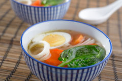 Duck soup Stock Photo