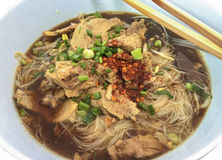 Duck spices noodle soup Royalty Free Stock Images