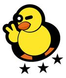 Duck star Royalty Free Stock Images