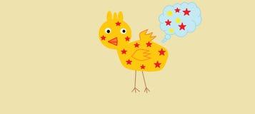 Duck Star illustration libre de droits