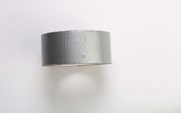 Duck tape. On white background Royalty Free Stock Photo