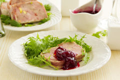 Duck terrine Royalty Free Stock Images