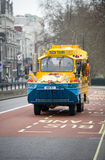 Duck tour bus in London, England Stock Image