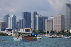 Duck tour Miami Royalty Free Stock Images