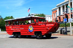 Duck Tours Boston Royalty Free Stock Images