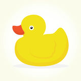 Duck toy isolated vector Stock Photography