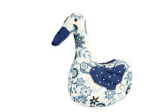 Duck toy isolated on white Royalty Free Stock Images