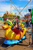 Duck train Royalty Free Stock Images