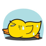DUCK VECTOR CARTOON 54 Royalty Free Stock Photography
